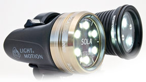 Video lights from Optical Ocean Sales