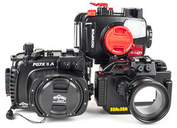 Compact Camera Housings from Optical Ocean Sales